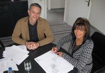 Artos Architekt Herr Nees und die Bauherrin