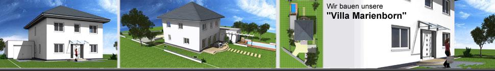 """Bautagebuch """"Villa Marienborn"""". Wir bauen eine Stadtvilla. header image 4"""