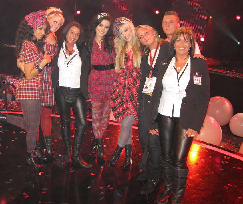 Das erste offizielle queensberry foto vom popstars finale 18 12 2008