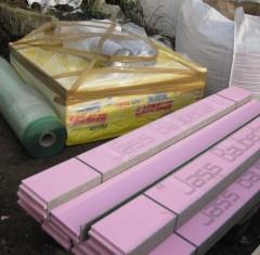 Erste Materialanlieferungen erfolgten am heutigen Freitag.