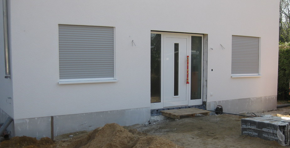 fenster und t ren einbau durch firma tmp bautagebuch villa marienborn wir bauen eine. Black Bedroom Furniture Sets. Home Design Ideas