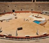 Der Aufbau zur Wetten Dass Show 2010 begann bereits am 11.5.2010.