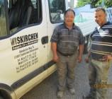 Die beiden supernetten, fleißigen Mitarbeiter der Firma Wiskirchen, die auch die Erdarbeiten für die Bodenplatte unserer Stadtvilla ausgeführt hat. Absolut zu empfehlen! Zuverlässig, faire Preise und sehr zeitnahe professionelle Ausführung haben uns überzeugt.
