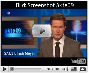 SAT1 AKTE 09 TV-Beitrag Baupfusch bei Familie Schnitzler Wegberg