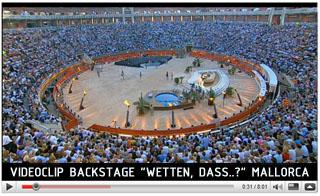Videoclip Backstage Wetten Dass 2009 Mallorca