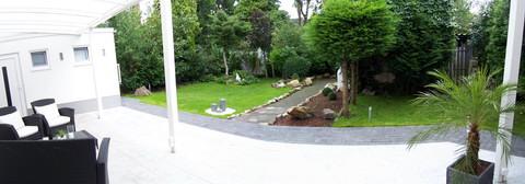 Teil unseres Gartens